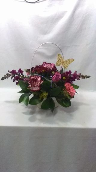 flowers basket maleys flowers port elizabeth